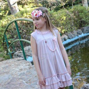 vestido-nina-recto-rosa-palo-glamur-lolittos-