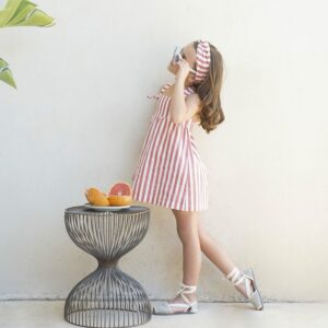 vestido-coral-rayas-crab-eve-children-