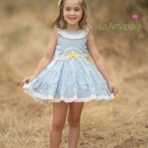 vestido-nina-vichy-celeste-daisy-la-amapola-