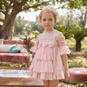 vestido-niña-tul-rosa-palo-dolce-petit-