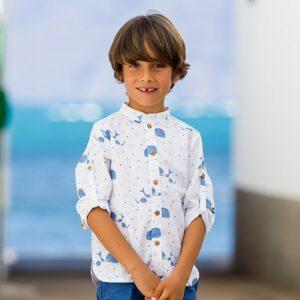 camisa-nino-ballenas-kids-chocolate-